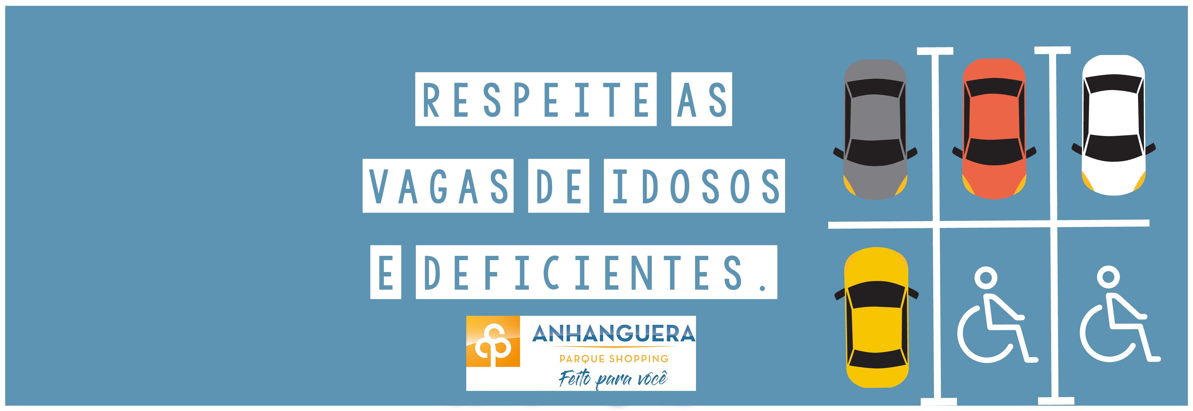 VAGAS DE IDOSOS E DEFICIENTES.